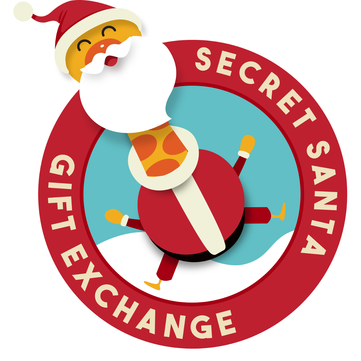 Christmas gift exchange clipart clipart freeuse library 28+ Collection of Secret Santa Gift Exchange Clipart | High quality ... clipart freeuse library