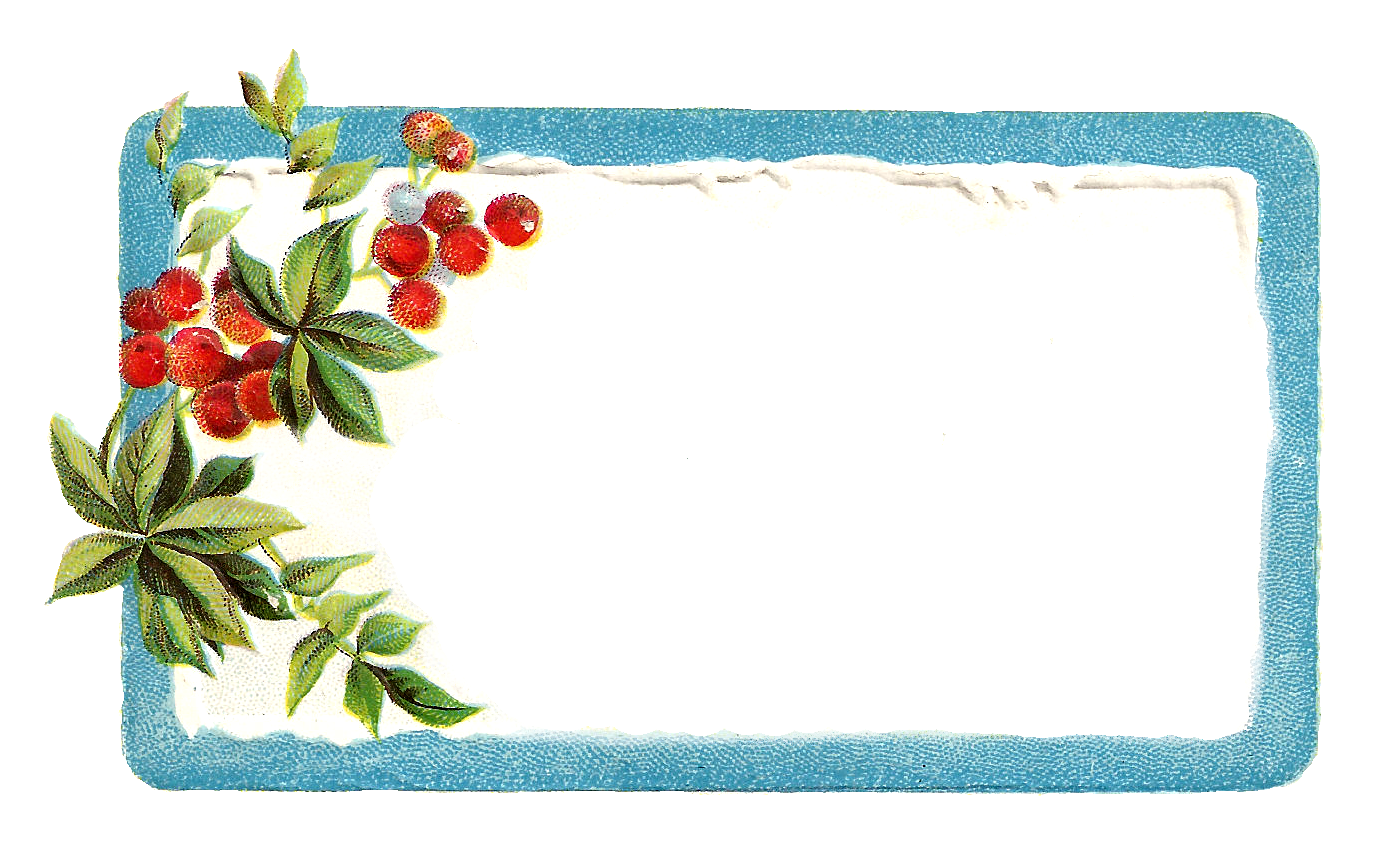 Christmas gift tag clipart clipart transparent stock Antique Images: Printable Vintage Christmas Blue Labels and Frames ... clipart transparent stock