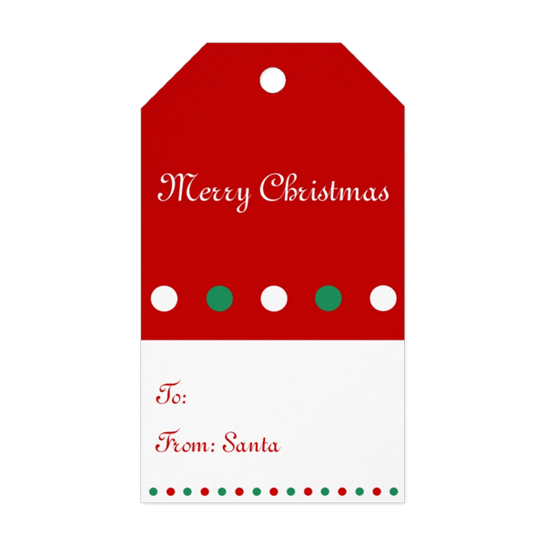 Christmas gift tag clipart picture library stock Personalized Christmas Gift Tags picture library stock