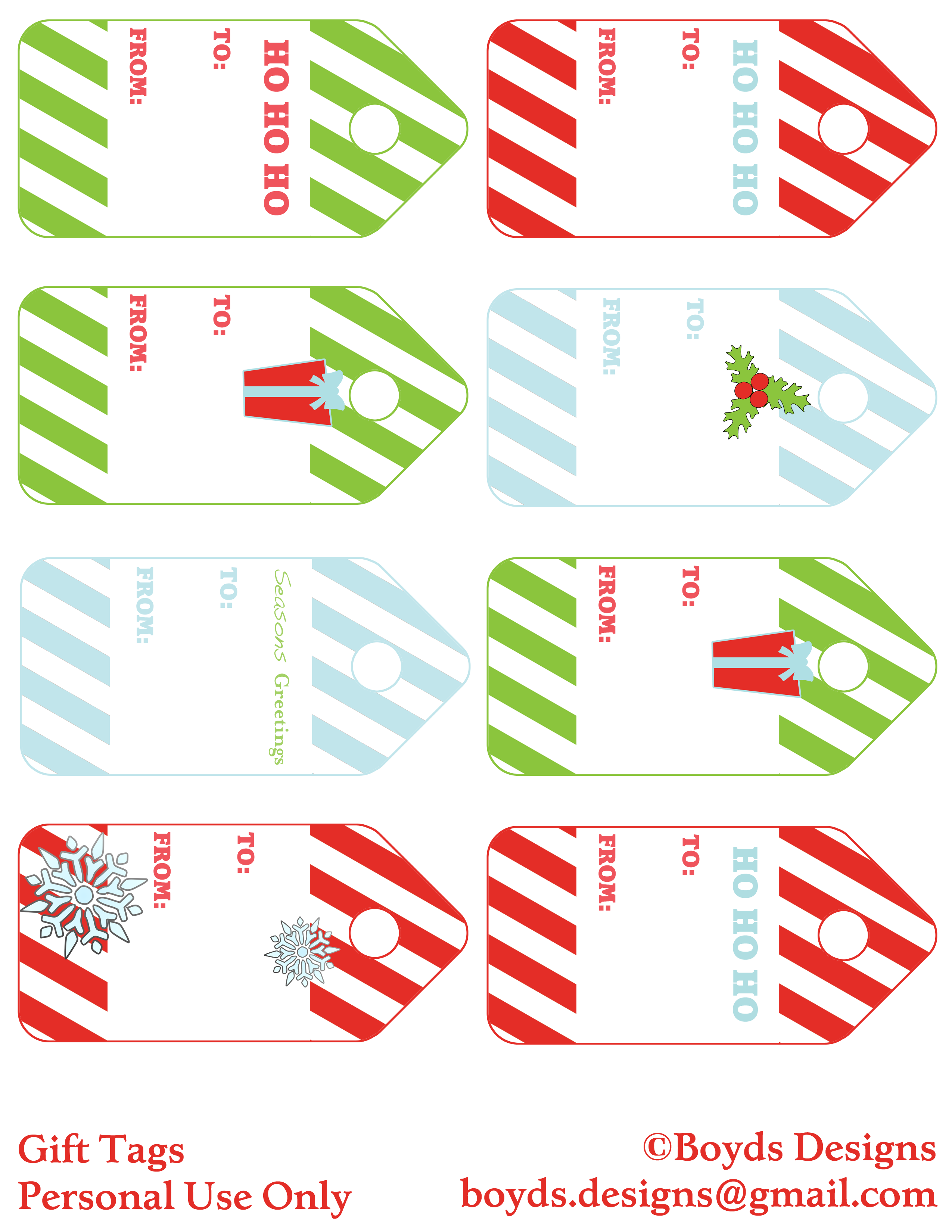 Christmas gift tag clipart transparent stock 12 Days of Christmas DIY Printable FREEBIES! Day 2 – Gift Tags ... transparent stock
