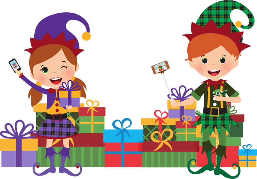 Christmas gift wrapping clipart clip library library Ellen Presents: The Scotch™ Brand's Most Gifted Wrapper Contest clip library library