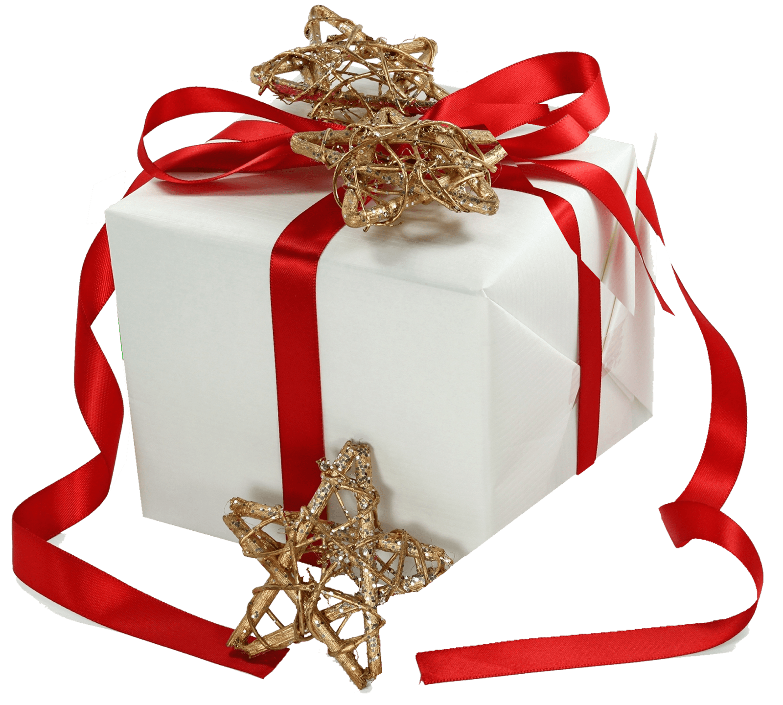Christmas gift wrapping clipart jpg royalty free library Christmas Gift Ribbon Gold Stars transparent PNG - StickPNG jpg royalty free library