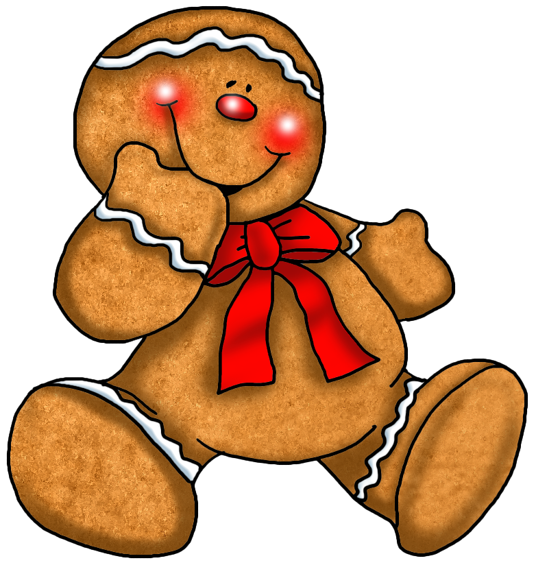 Christmas goodies clipart clip art stock Transparent Christmas Gingerbread Ornament | Gallery Yopriceville ... clip art stock