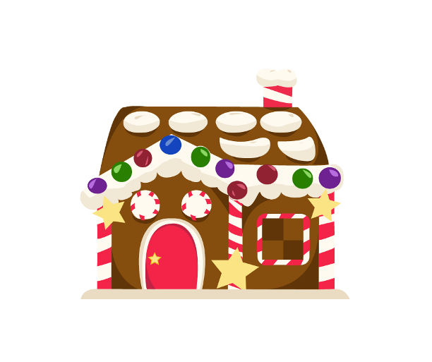 Gingerbread house clipart free graphic freeuse Mondo Incantato Gingerbread-house by Schikibon on DeviantArt graphic freeuse
