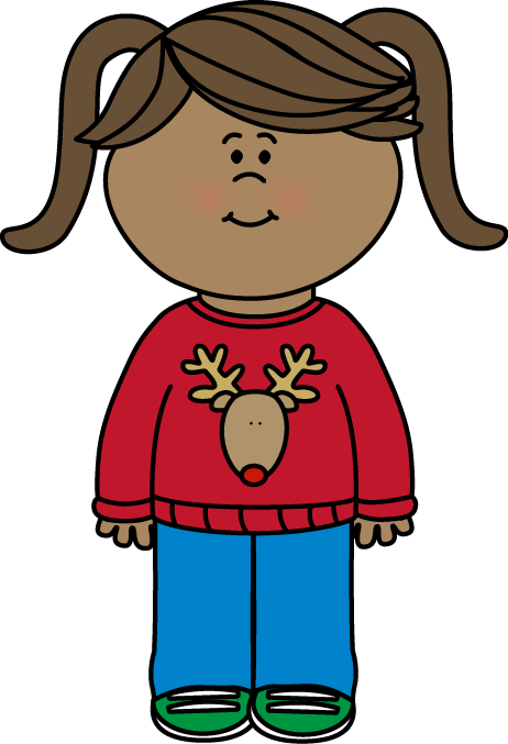 Kid christmas clipart banner library Christmas Girl Clipart at GetDrawings.com | Free for personal use ... banner library