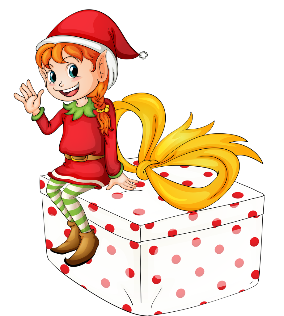 Christmas girl elf clipart image library download 19.png | Pinterest | Natal, Christmas clipart and Merry image library download