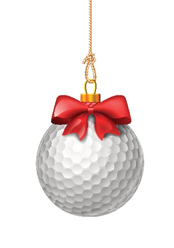 Christmas golf ball clipart graphic black and white download Golf Ball With Red Bow premium clipart - ClipartLogo.com graphic black and white download