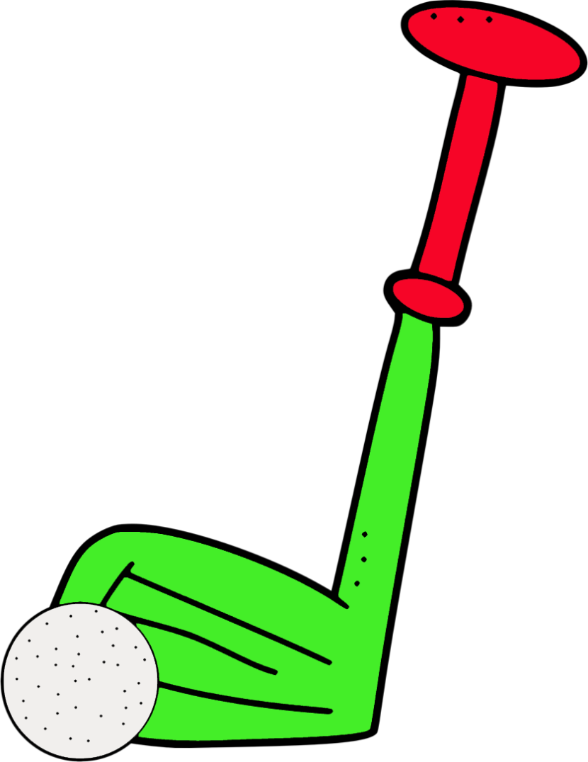 Christmas golf clipart png stock Golf Clip Group (64+) png stock