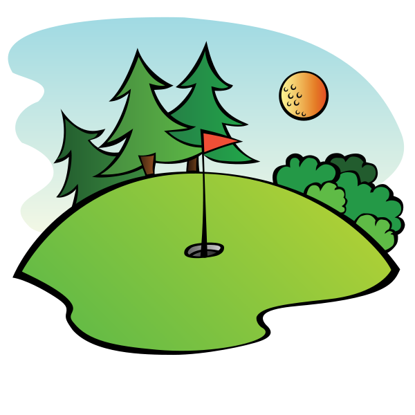 Christmas golf clipart banner freeuse download Golf Clip Art Funny | Clipart Panda - Free Clipart Images banner freeuse download