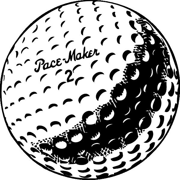 Christmas golf clipart jpg royalty free sketches of golf | Golfball clip art - vector clip art online ... jpg royalty free
