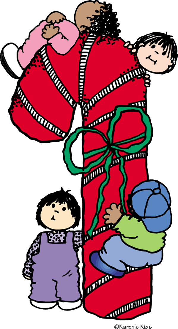 Christmas goodies clipart picture freeuse stock DIY Kid-Made Christmas Notes | Karen's Kids Studio Blog picture freeuse stock
