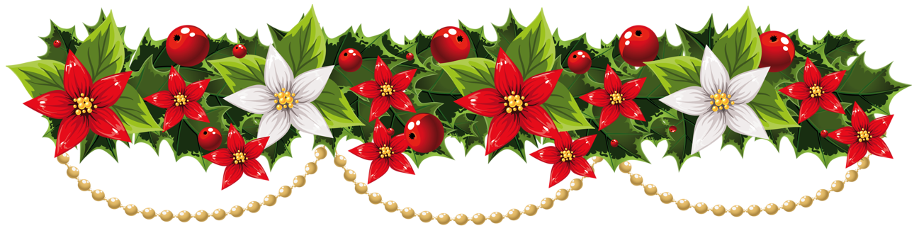 Christmas swag clipart png free library Christmas Garland Clipart – Festival Collections png free library