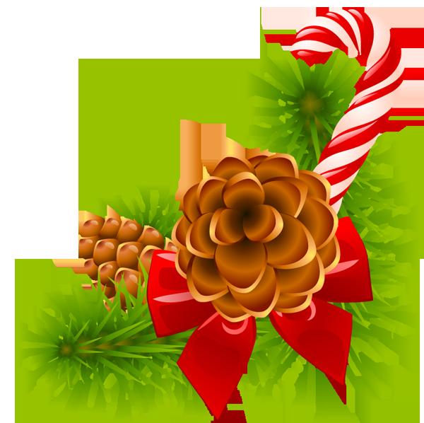 Christmas greenery clipart