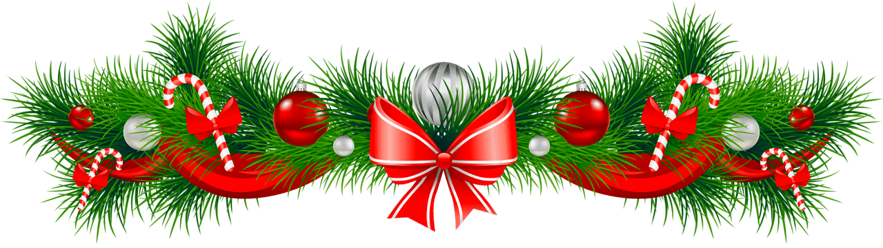 Christmas lunch clipart clip art library library Free-christmas-garland-clipart-the-cliparts - Concord Community Schools clip art library library