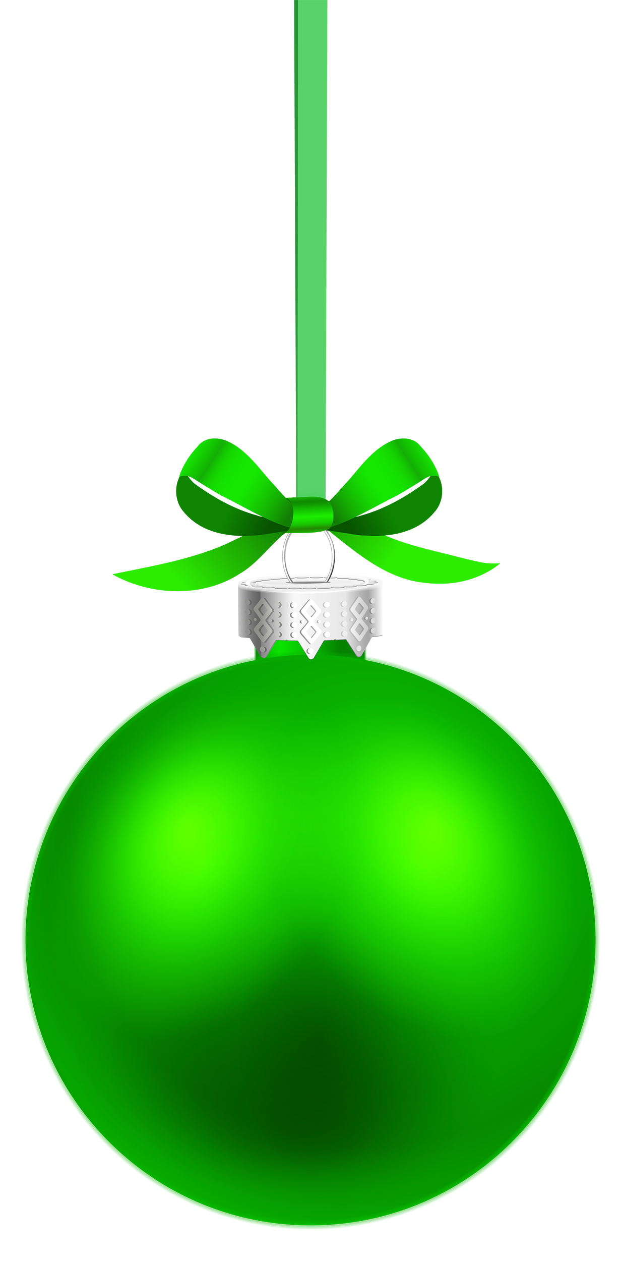 Hanging christmas ornament clipart clip transparent Green Hanging Christmas Ball PNG Clipart - Best WEB Clipart clip transparent