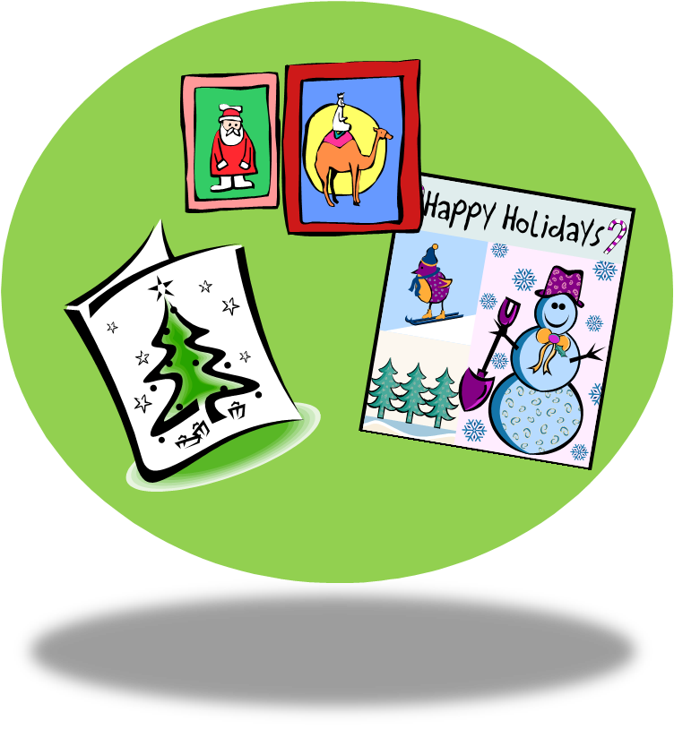 Christmas greeting cards clipart jpg free stock Greeting Card Clipart - Free Clipart jpg free stock