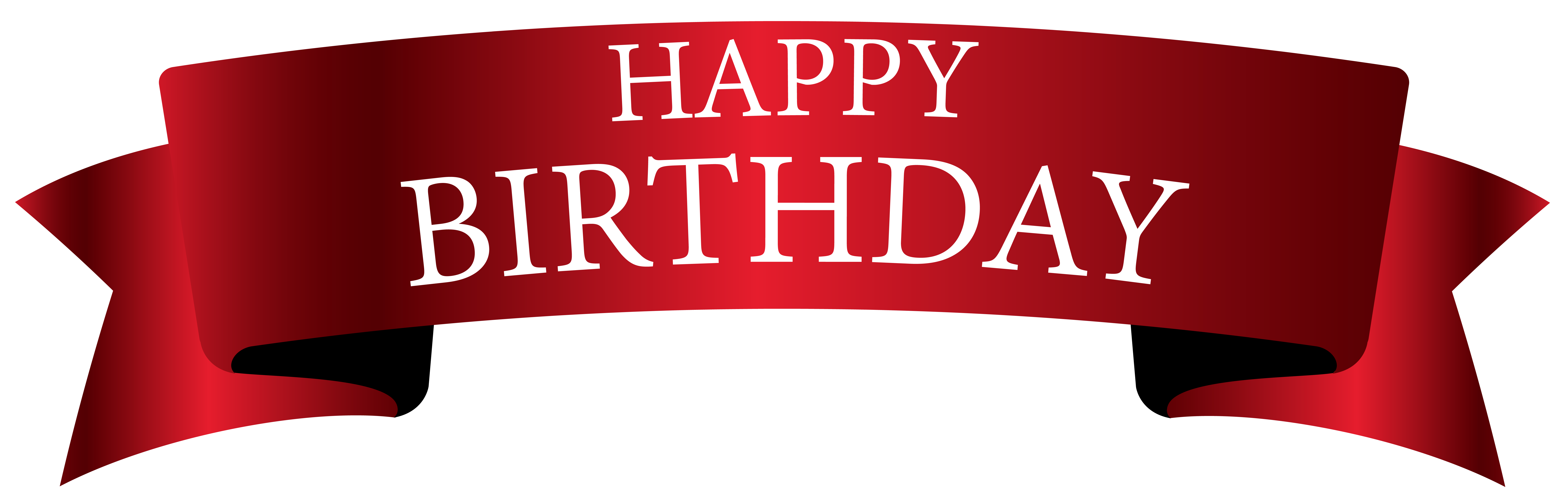 Christmas happy birthday clipart image transparent stock Red Birthday Banner PNG Clipart Image | Gallery Yopriceville - High ... image transparent stock