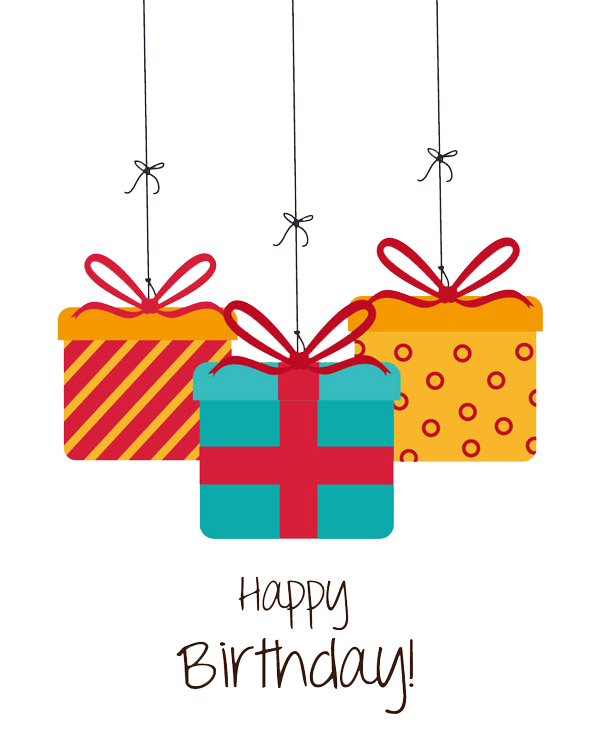 Christmas happy birthday clipart svg freeuse Birthday Gift Greeting card Christmas - Happy Birthday birthday gift ... svg freeuse