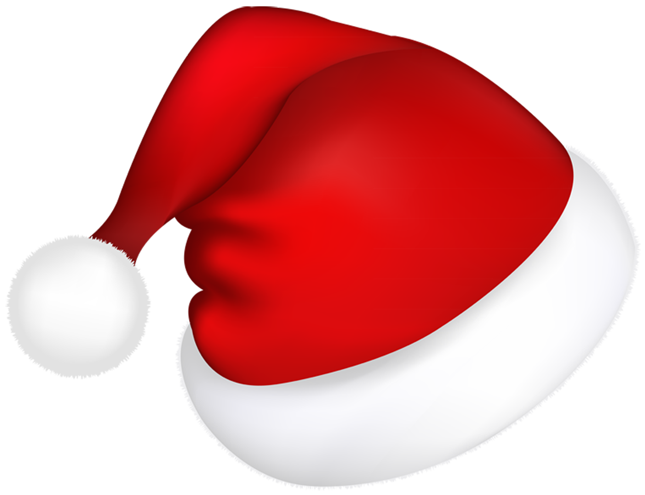 Fish with santa hat clipart png black and white download Large Red Santa Hat PNG Picture | Gallery Yopriceville - High ... png black and white download