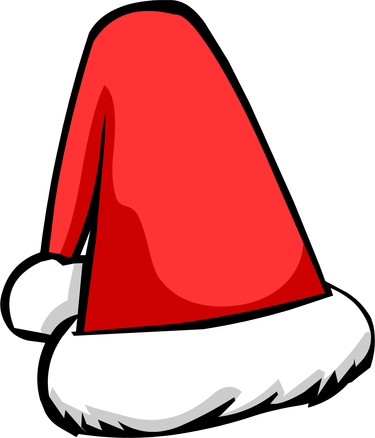 Christmas hats clipart graphic black and white download Santa Hat | Club Penguin Wiki | FANDOM powered by Wikia graphic black and white download