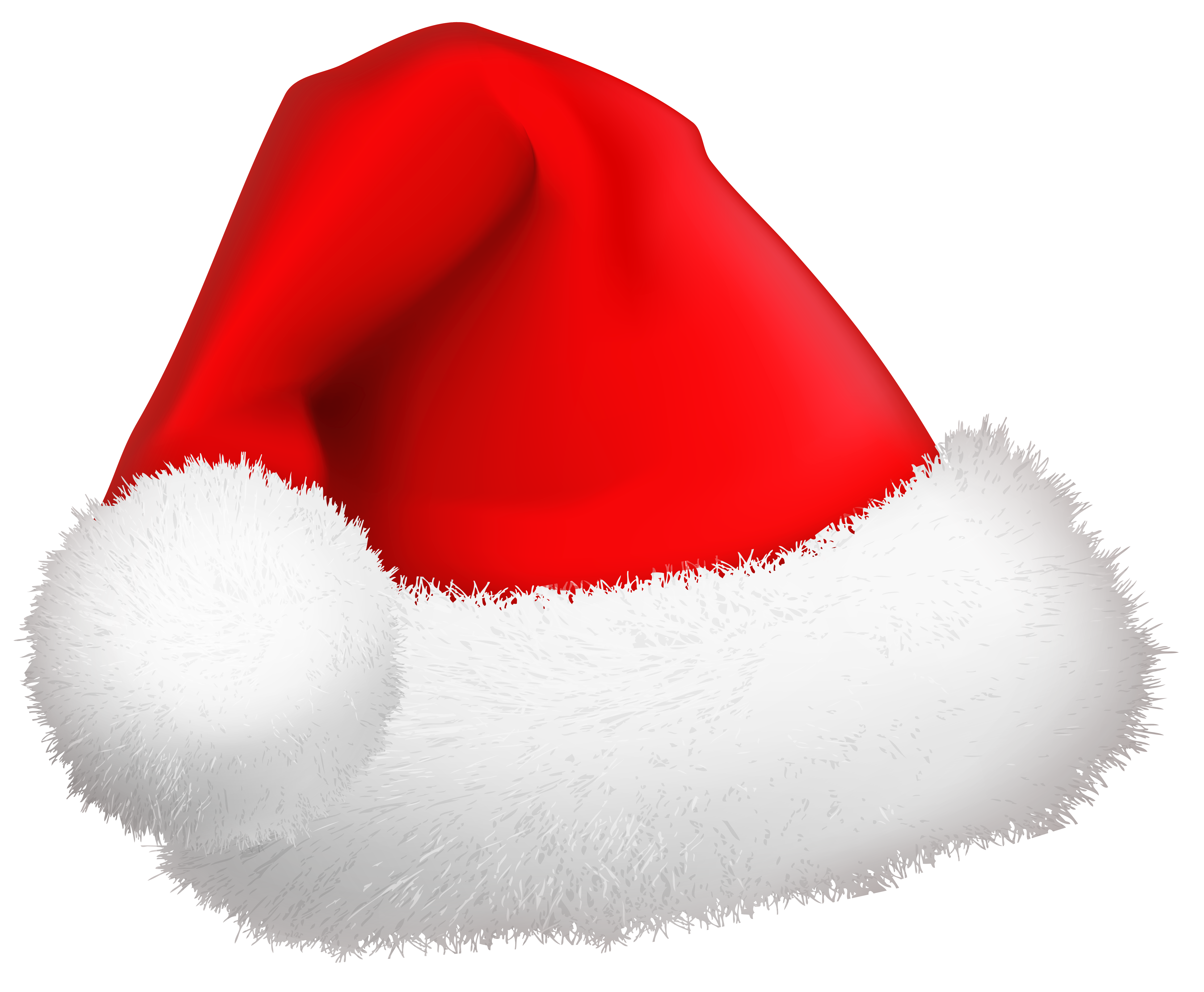 Christmas hats clipart banner library library Christmas Santa Hat PNG Clip-Art Image | Gallery Yopriceville ... banner library library