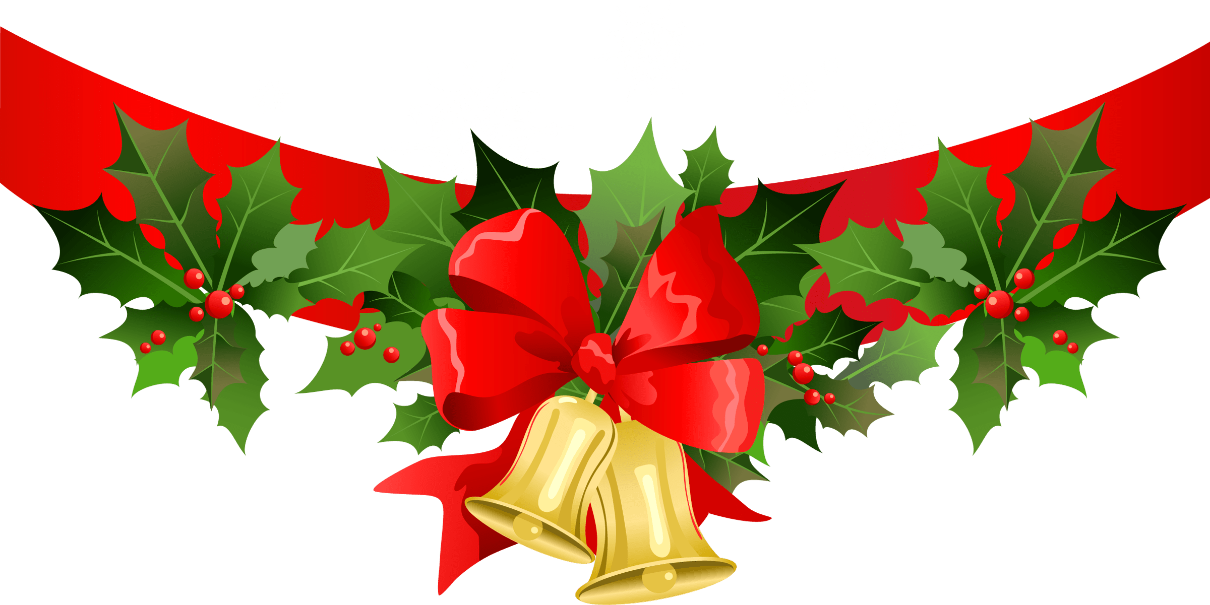 Christmas header clipart clip art freeuse Free Christmas Banner Clipart – Merry Christmas And Happy New Year 2018 clip art freeuse