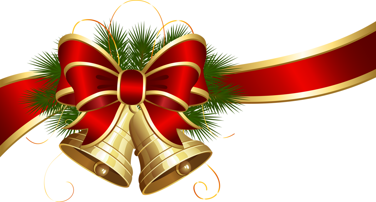 Christmas header clipart png library download Christmas Bell PNG Transparent Free Images | PNG Only png library download