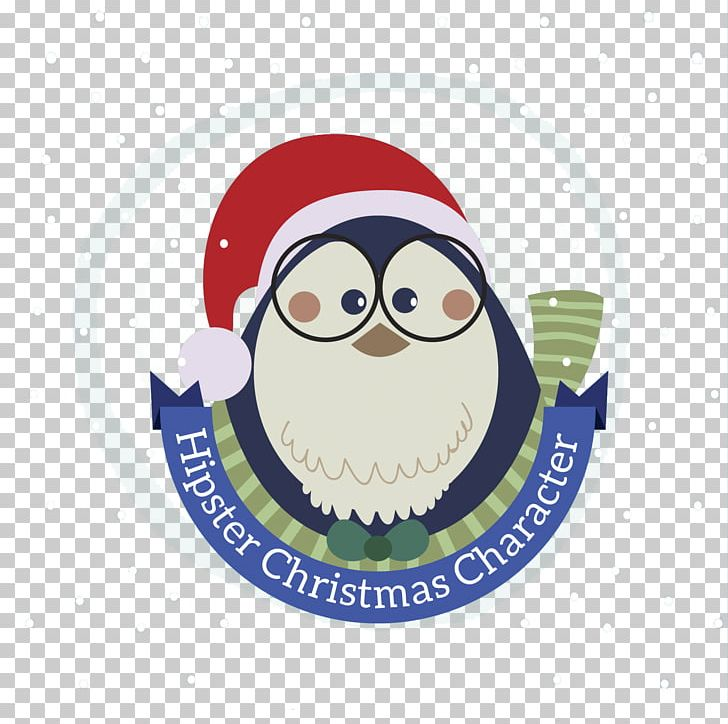 Christmas hipster clipart image freeuse download Santa Claus Penguin Christmas Hipster PNG, Clipart, Adobe Ill ... image freeuse download