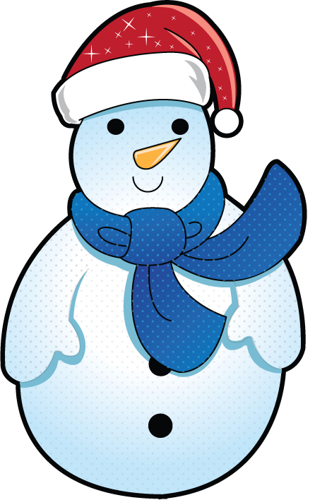 Christmas holiday clipart free svg library stock Free Clip-Art: Holiday Clip-Art » Christmas » Mini Frosty the Snowman svg library stock