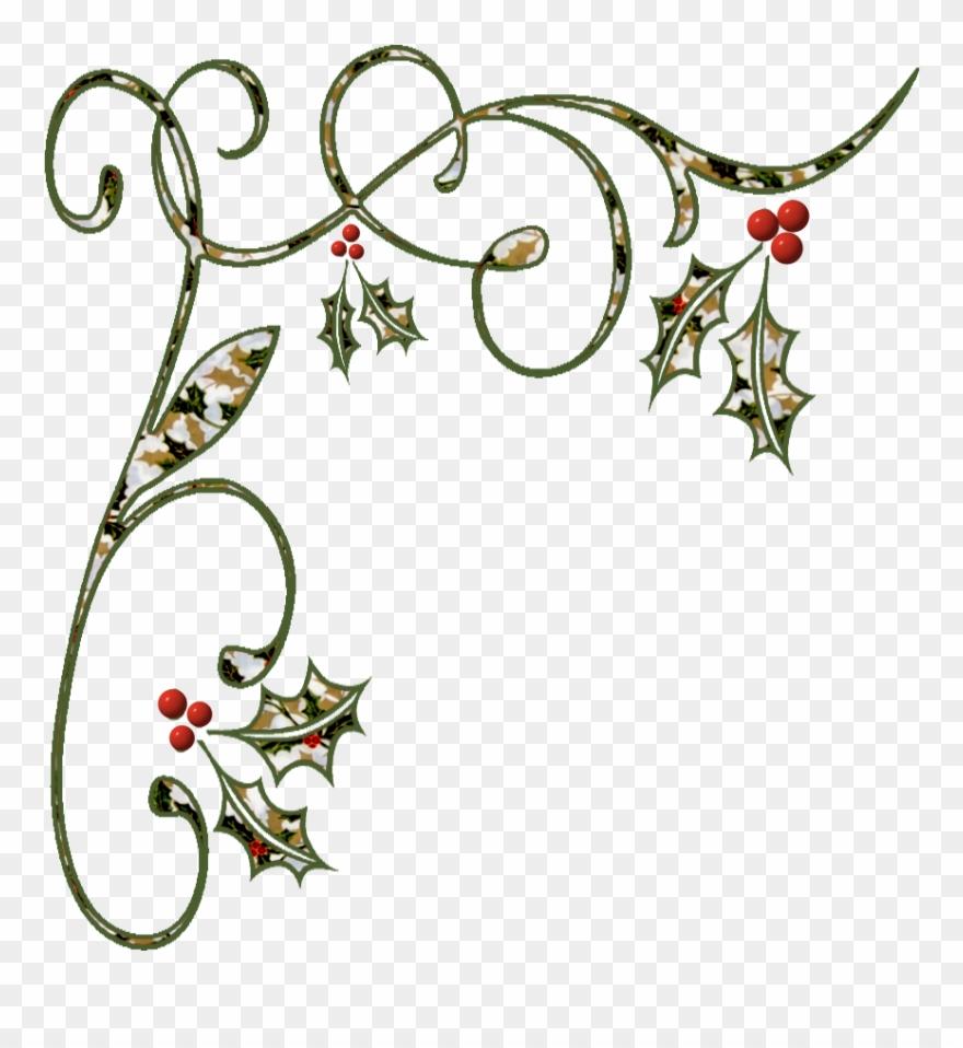 Christmas holidays border clipart vector black and white Clip Art Royalty Free Holidays Clipart Corner - Border Holiday ... vector black and white