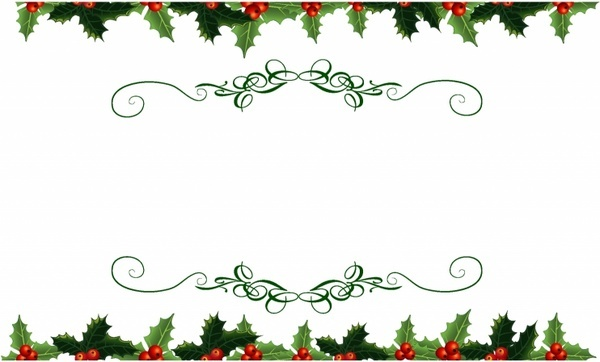 Free clipart christmas holly borders svg free download Vector christmas holly border free vector download (12,408 Free ... svg free download