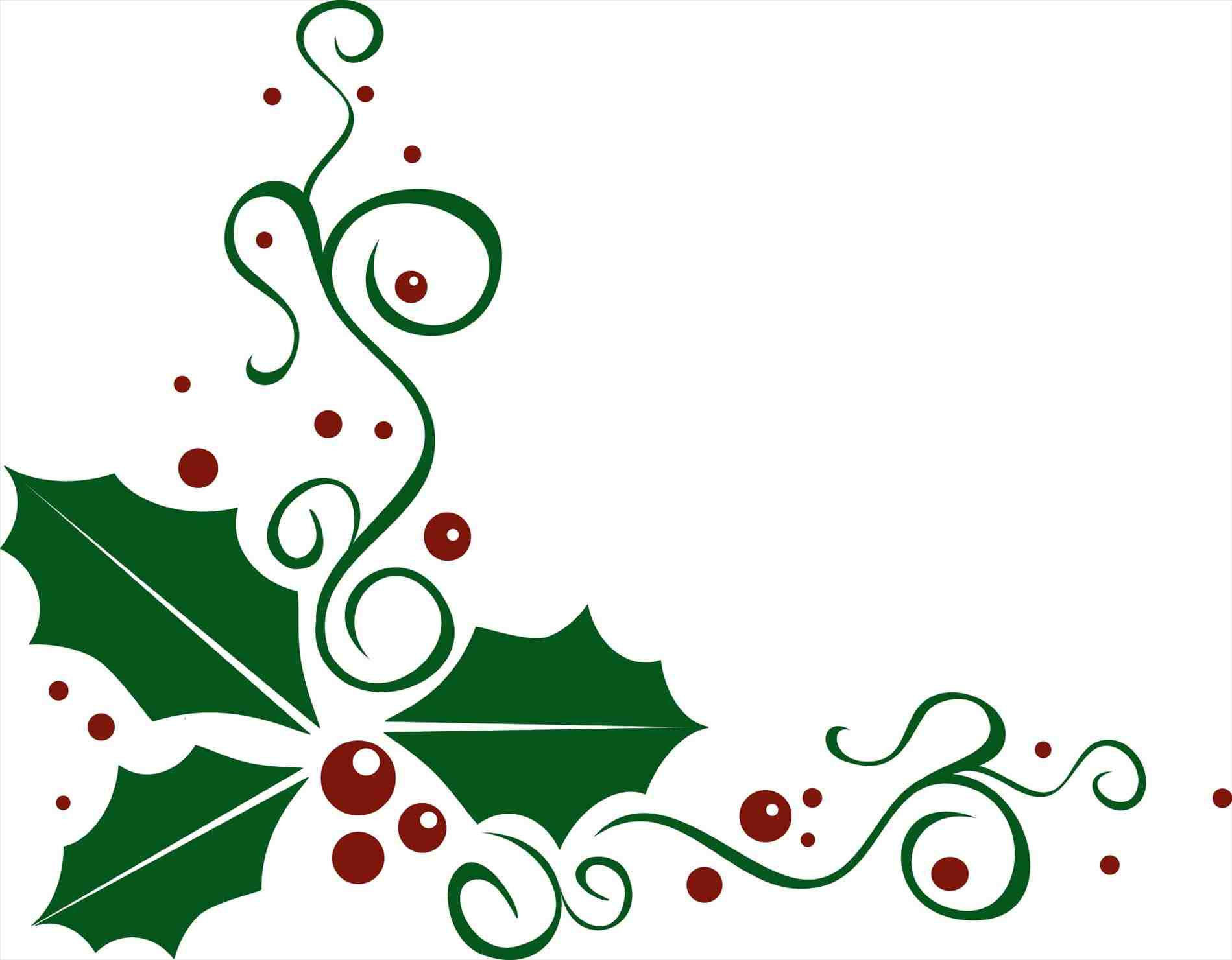 Free clipart christmas holly borders clip royalty free stock Holly Images Free Clipart | Free download best Holly Images Free ... clip royalty free stock