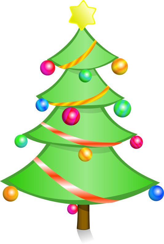 Holiday tree clipart picture transparent Holiday Home Safety   General Heating and Air Conditioning picture transparent