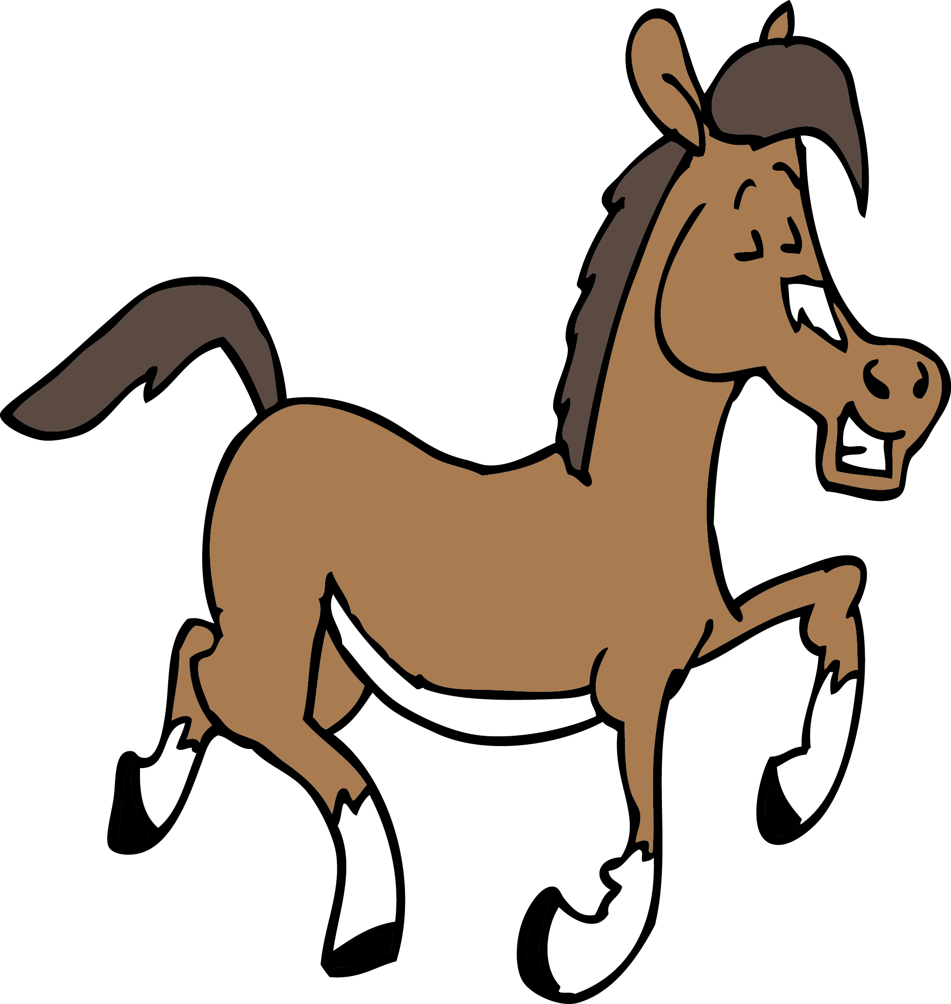 Horse football mascot clipart clipart library library Quarter Horse Clipart at GetDrawings.com | Free for personal use ... clipart library library