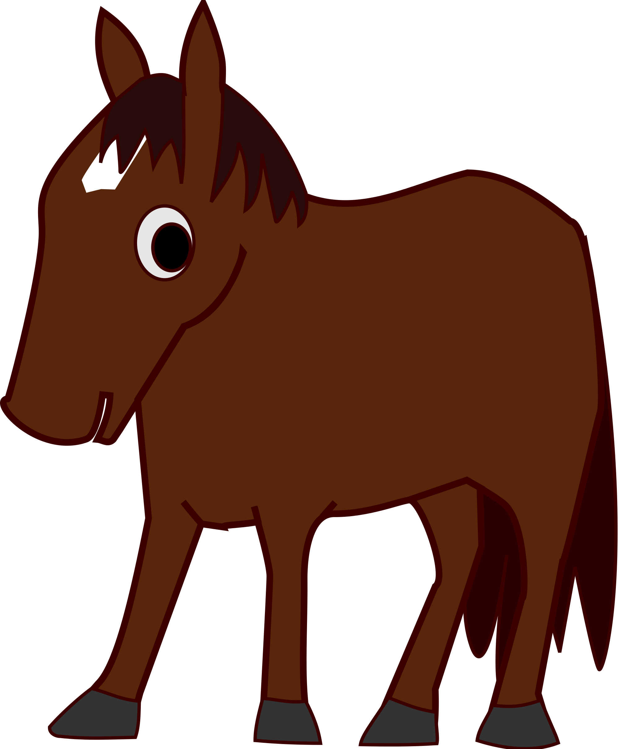 Christmas horse clipart image royalty free download  image royalty free download