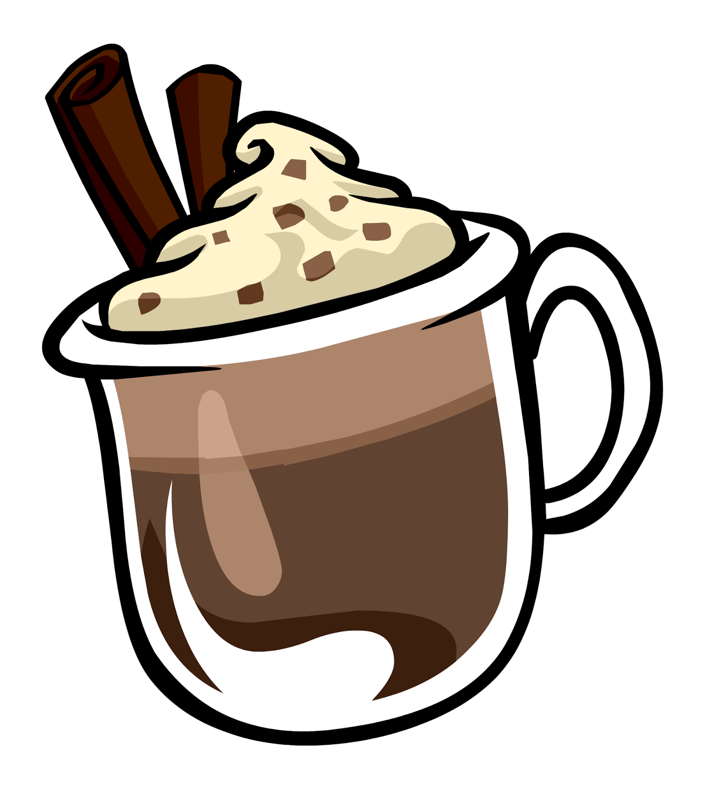 Christmas hot chocolate clipart banner Fall Is Here, Hot Chocolate; One of our Favorite Things To Drink ... banner