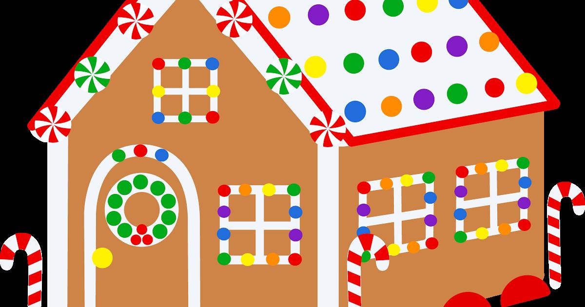 Cute gingerbread house clipart. Free christmas ideas