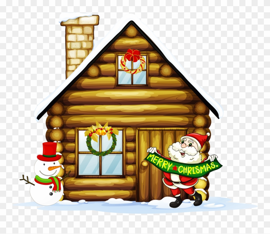 Christmas housewarming clipart clipart download Christmas Village Houses Clipart - Png Download (#97069) - PinClipart clipart download