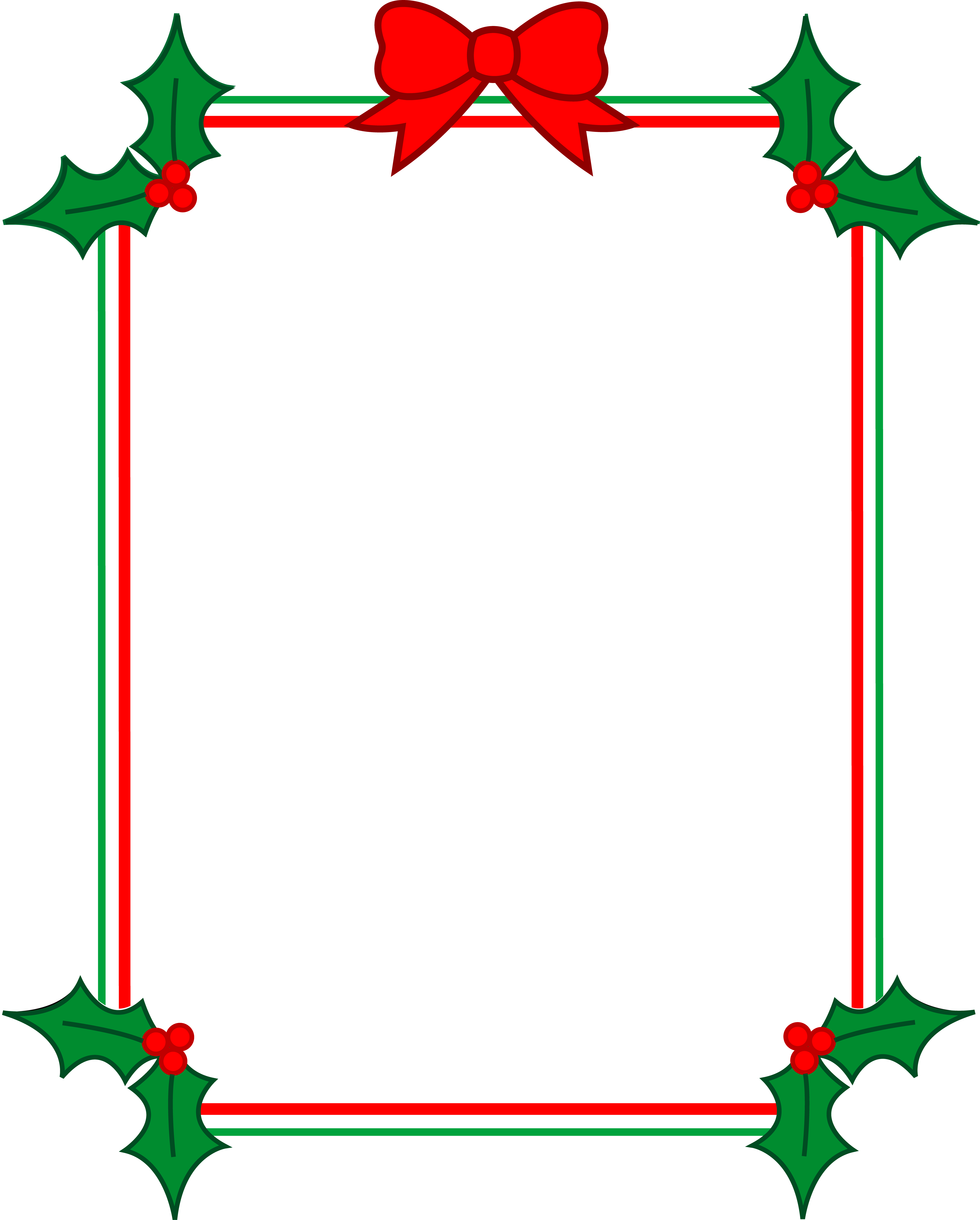 Free christmas frames and borders clipart clipart royalty free stock Christmas clipart free borders clipart images gallery for free ... clipart royalty free stock