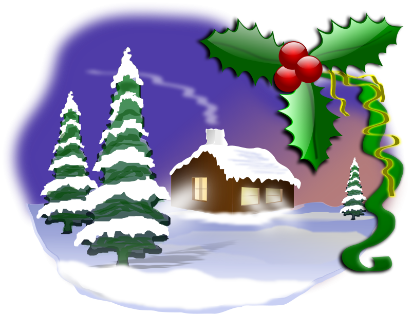 Library of christmas scenes picture