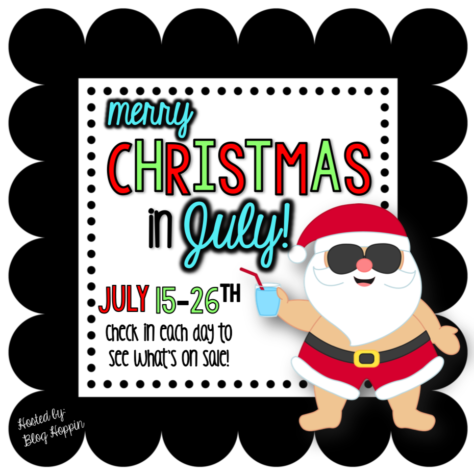 Christmas in july clipart clip art transparent stock Math Work Stations Part 2: The Set-Up - Queen of the First Grade Jungle clip art transparent stock