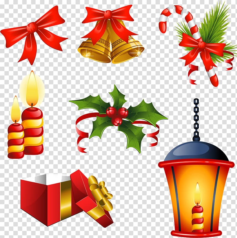 Christmas items clipart jpg royalty free library Christmas decoration , Free Christmas items buckle material ... jpg royalty free library