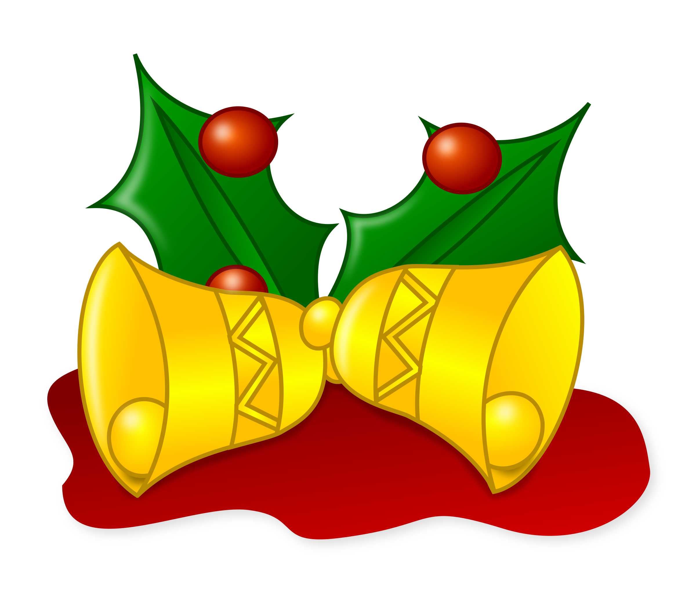 Christmas jingle bell clipart clip art royalty free download Clipart - Colored: Jingle Bells clip art royalty free download