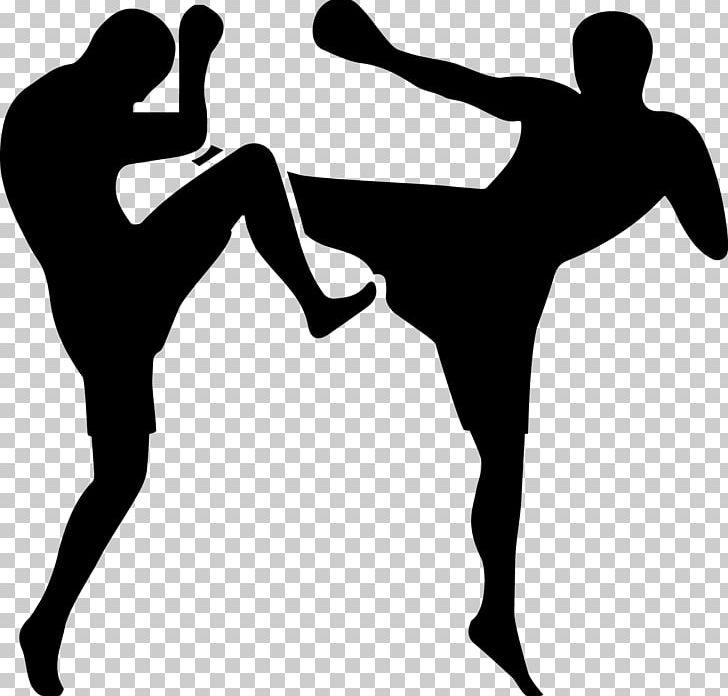 Kickboxer clipart