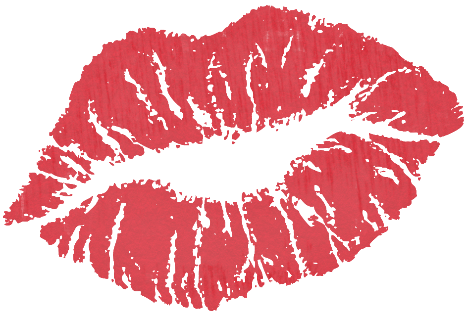 Christmas kiss clipart graphic library download Red Kiss PNG Clipart | Gallery Yopriceville - High-Quality Images ... graphic library download