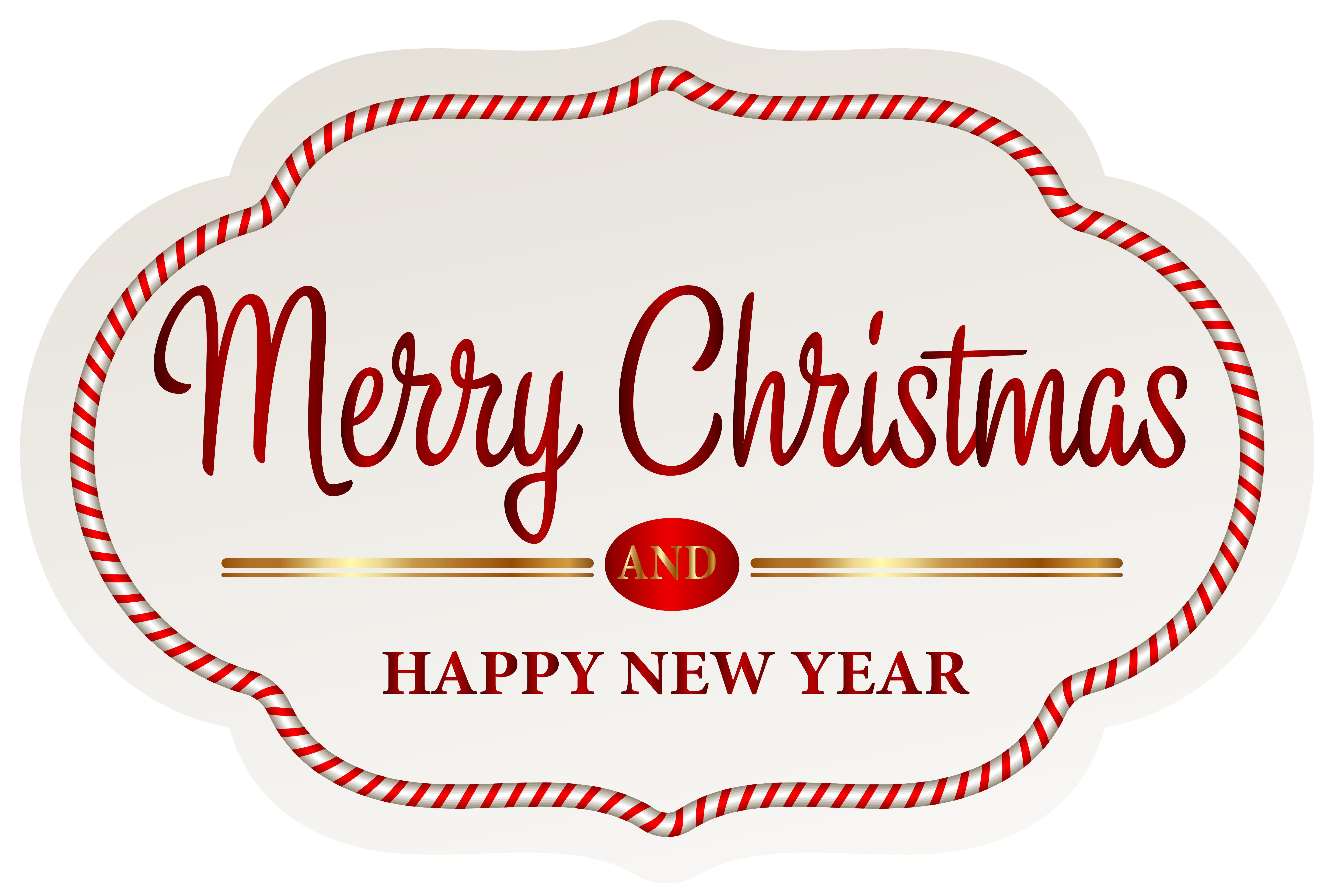 Christmas tags clipart clipart transparent download Merry Christmas Label PNG Clipart Image | Gallery Yopriceville ... clipart transparent download