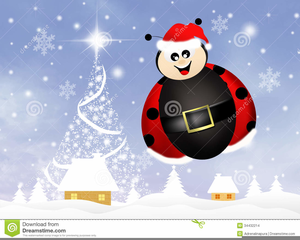 Christmas ladybug clipart graphic download Christmas Ladybug Clipart | Free Images at Clker.com - vector clip ... graphic download