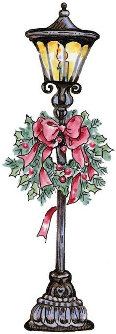 Christmas lamp post clipart png stock Pin by Nora Petrea on spoon crafts | Christmas lamp, Christmas ... png stock