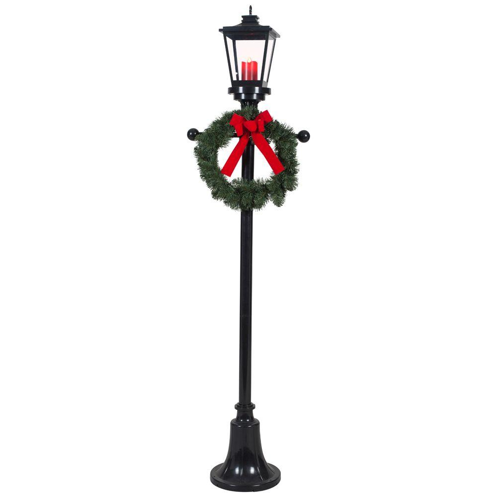Christmas lamp post clipart image black and white stock Free Lamp Post Clipart christmas, Download Free Clip Art on Owips.com image black and white stock