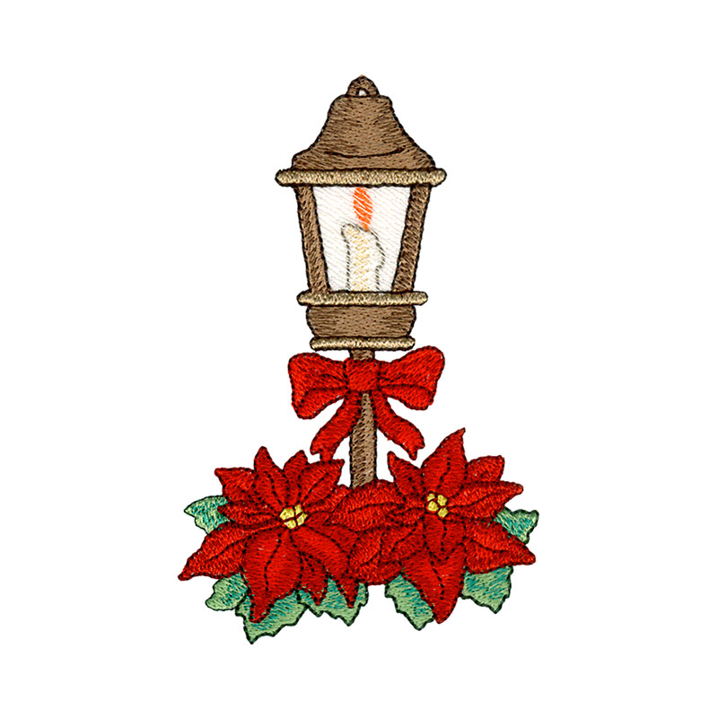 Christmas lamp post clipart clip freeuse Christmas Lamp Post clip freeuse